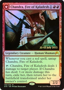 Chandra, Fire of Kaladesh - Origins Prerelease Promo