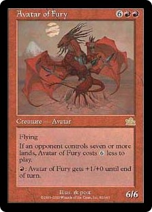 Avatar of Fury (Foil)