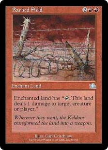 Barbed Field (Foil)