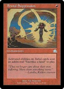 Brutal Suppression (Foil)