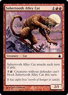 Sabertooth Alley Cat