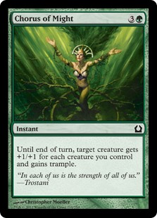 Chorus of Might (Foil)
