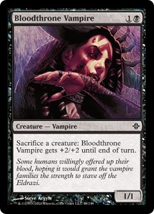 Bloodthrone Vampire (Foil)