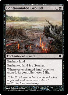 Contaminated Ground (Foil)