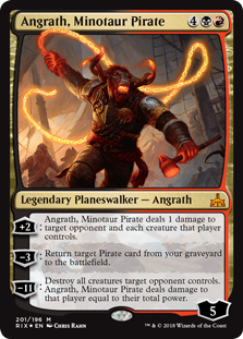 Angrath, Minotaur Pirate (Foil)