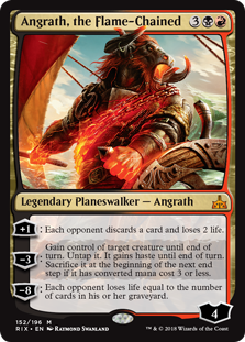 Angrath, the Flame-Chained (Foil)