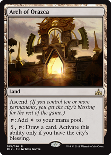Arch of Orazca (Foil)