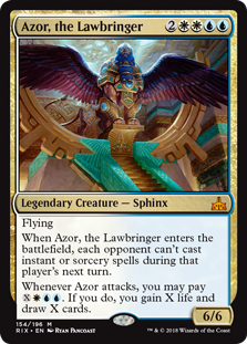 Azor, the Lawbringer (Foil)