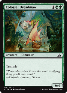 Colossal Dreadmaw (Foil)