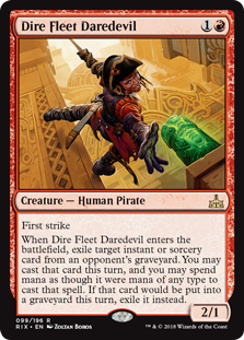 Dire Fleet Daredevil (Foil)