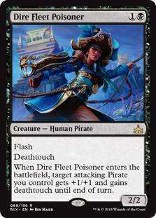 Dire Fleet Poisoner (Foil)