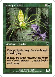 Canopy Spider (Foil)