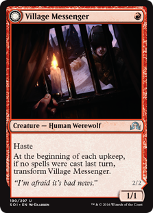 Village Messenger / Moonrise Intruder