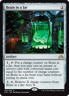 Brain in a Jar (Foil)