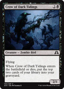 Crow of Dark Tidings (Foil)