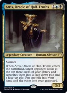Atris, Oracle of Half-Truths (Promo Pack Foil)