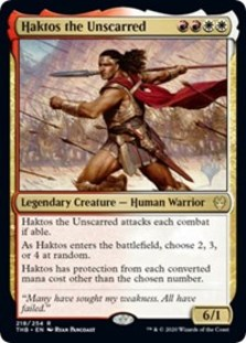 Haktos the Unscarred (Promo Pack Foil)
