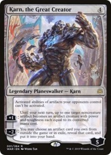 Karn, the Great Creator (Promo Pack Foil)