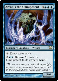 Arcanis the Omnipotent (Foil)