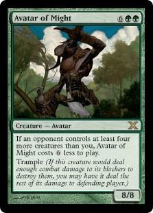 Avatar of Might (Foil)
