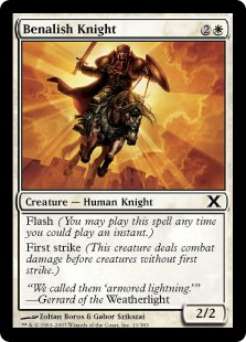 Benalish Knight (Foil)