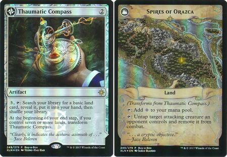 Thaumatic Compass / Spires of Orazca - Alt Art Promo