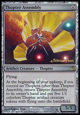 Thopter Assembly - Mirrodin Besieged Launch Party Promo
