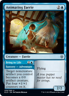 Animating Faerie (Foil)