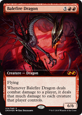 Balefire Dragon - Ultimate Box Topper
