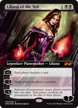 Liliana of the Veil - Ultimate Box Topper