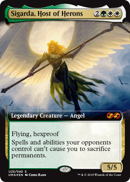 Sigarda, Host of Herons - Ultimate Box Topper