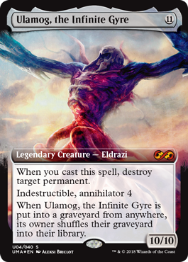 Ulamog, the Infinite Gyre - Ultimate Box Topper
