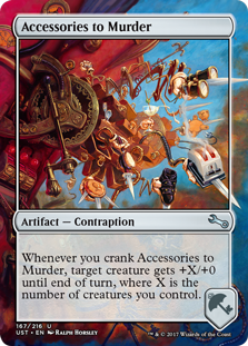 Accessories to Murder (Foil)