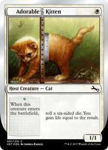 Adorable Kitten (Foil)