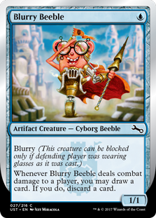Blurry Beeble (Foil)