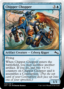 Chipper Chopper (Foil)