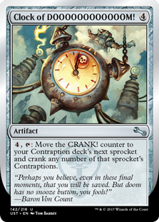 Clock of DOOOOOOOOOOOOM! (Foil)