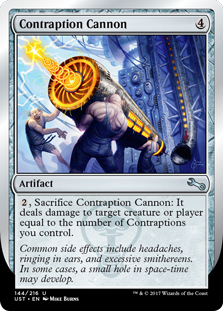 Contraption Cannon (Foil)
