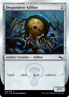 Despondent Killbot (Foil)