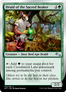 Druid of the Sacred Beaker (Foil)