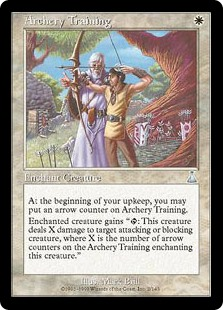 Archery Training (Foil)