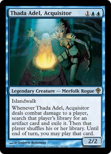 Thada Adel, Acquisitor