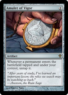 Amulet of Vigor (Foil)