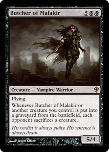 Butcher of Malakir (Foil)