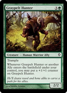 Graypelt Hunter (Foil)
