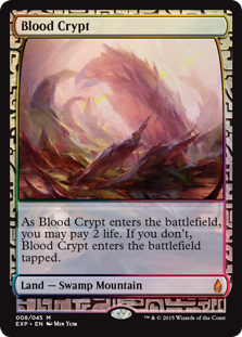 Blood Crypt - Zendikar Expedition
