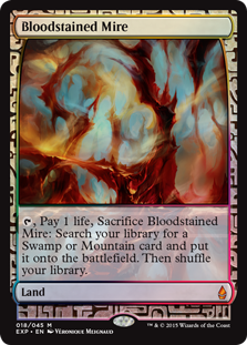 Bloodstained Mire - Zendikar Expedition