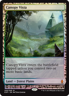 Canopy Vista - Zendikar Expedition