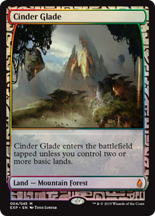 Cinder Glade - Zendikar Expedition