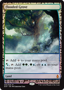 Flooded Grove - Zendikar Expedition